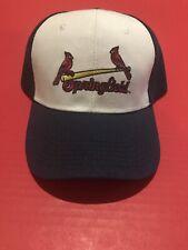 Springfield Cardinals AA Affiliate St. louis Navy & White Adjustable Cap Hat