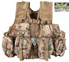 British Army Military US Special Forces Tactical Combat Assault Vest BTP