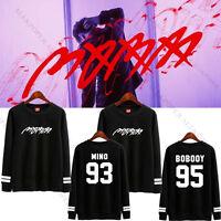 Kpop IKON Bobby Sweatershirt The MOBB Winner Minho Sweater Pullover Hoodie