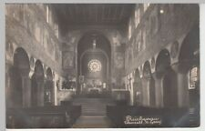 (100087) Foto AK Reichenau, Oberzell, St. Georg, Inneres, vor 1945