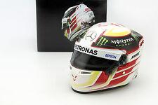 Lewis Hamilton Mercedes F1 W06 Hybrid Weltmeister Formel 1 2015 Helm 1:2 Bell