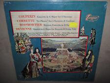 COUPERIN CORRETTE BOISMORTIER DEVIENNE Works Concerto For Bassoon RARE SEALED LP