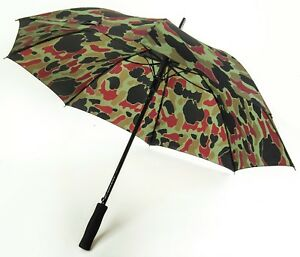 """The AirForceOne® """"CAM-O-BRELLA"""" 8 Panel Camo Brolly. Fashion & Function"""