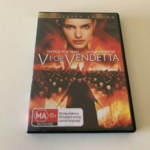 V For Vendetta - DVD R4 - Natalie Portman Hugo Weaving