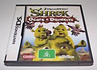Shrek Ogres & Dronkeys Nintendo DS 2DS 3DS Game *Complete*