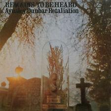 The Aynsley Dunbar Retaliation – Remains To Be Heard   CD NEW