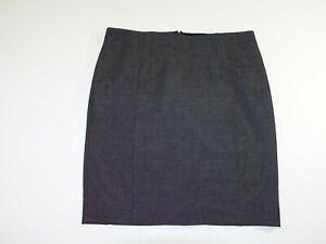 Express Women's Straight Pencil Skirt Size 16 NWOT Dark Gray Knee Length Lined