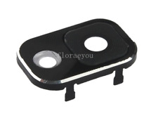 Back Rear Camera Lens Cover Frame Holder For Samsung Galaxy Note 3 N900 (Black)