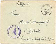 *Feldpost II. WK - 1942 * nach Lübeck (33)