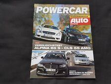 BMW Alpina Test Alpina B5 S CSL 55 AMG D3 Biturbo Sonderdruck Prospekt Brochure