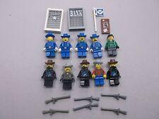 LEGO FORT LEGORADO MINIFIG LOT of 10 MINIFIGS WESTERN CAVALRY BANDITS O77