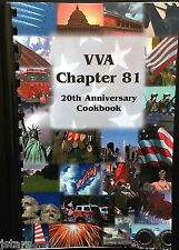 VIETNAM VETERANS OF AMERICA COOKBOOK, VVA CHAPTER 81, ROANOKE, VA, 2003