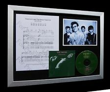 SMITHS+MORRISSEY There Is A Light LTD CD FRAMED DISPLAY+EXPRESS GLOBAL SHIPPING!