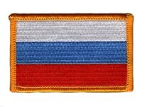 RUSSIA RUSSIAN FLAG PATCHES COUNTRY PATCH BADGE IRON ON NEW EMBROIDERED