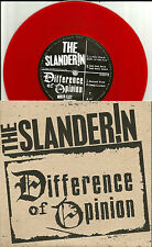 Psychobilly THE SLANDERIN / DIFFERENCE OF OPINION ONLY 1000 Made  7 INCH VINYL