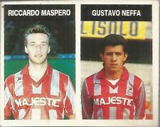 [AA] FIGURINA CAMPIONI & CAMPIONATO 1990/91-CREMONESE-MASPERO-NEFFA