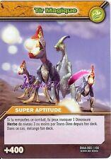 Carte DINOSAUR KING Attaque Alpha TIR MAGIQUE DKAA 065/100