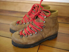 Vintage 1970s SUEDE LEATHER Mountaineering HIKING Austrian BOOTS Mens 5 37.5