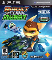 NEW Ratchet & and Clank: Full Frontal Assault  (PlayStation 3, 2012) NTSC
