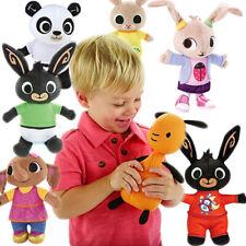 Bing Bunny Rabbit Doll Plush Toys Sula FLOP PANDO Stuffed Animal Toy Kid Gift UK