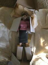 "Nib Franklin Mint Marilyn Monroe Porcelain Doll ""Sweater Girl"""