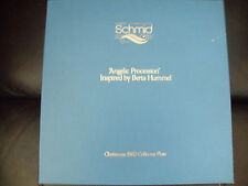 Schmid Angelic Procession 1982 Limited Edition Collector Plate w/Coa