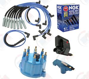 NGK Coil + Wires Tune-Up kit for Dodge Ram 1500 2500 Dakota B150 D150 5.2-5.9