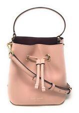 Kate Spade Small Bucket Eva Rosy Cheeks Crossbody Bag WKRU5857 $299
