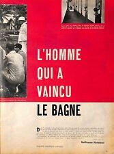 "RENE BELBENOIT FORCAT "" BAGNEILE DU DIABLE GUYANE "" PRISON PENAL COLONY ADP 1959"