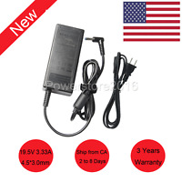 Lot 10 19.5V 3.33A 65W AC Adapter Power Charger For HP Pavilion Laptop Blue tip
