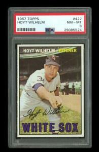 1967 Topps Set Break #422 Hoyt Wilhelm PSA 8 NM-MT