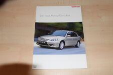 84378) Honda Civic IMA Prospekt 03/2004