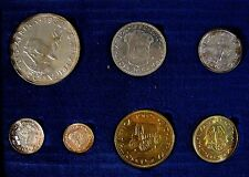 1962 South Africa 7 Piece w/Silver Proof Coin Set    #c ** FREE U.S. SHIPPING **