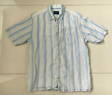 Mens Tommy Bahama 100% Linen Short Sleeve Shirt Size S