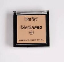 Ben Nye MediaPRO Sheer Foundation HD-401 Natural Beige FULL SIZE! .63oz/18g BNIB