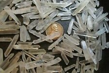1/4 Lb/ Pound- Broken Natural Quartz Crystals- Small Bits, Pieces, & Shards