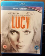 Lucy [Blu-ray] [2014] [Region Free]  Brand new and sealed