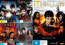 The ADVENTURES OF MERLIN : SEASON 1 2 3 4 5 : NEW DVD