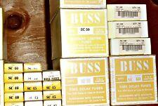 "NEW Lot 4 Cooper BUSSMANN Buss SC-50 FUSE ClassG 480V 2.25"" x.41"" NOS FAST SHIP"