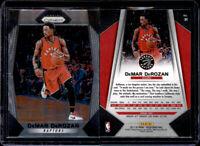 2017-18 Panini Prizm Basketball #31 DeMar DeRozan Toronto Raptors