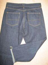 "Urban Outfitter ""Loom"" vintage style dark indigo selvedge denim jeans. 30W/27L."