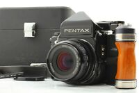 【ALL Late Model MINT ㏌ Case】 Pentax 67 TTL MUP + SMC P 90mm F2.8 From Japan #632