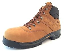 Wolverine W08711 Men's Cirrus Steel Toe Hiker Tan Work Boots Size 11