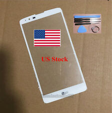 "white Front Touch Screen Outer Glass Len 5.7""inch for LG Stylo 2 Plus K550 tools"