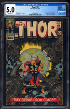 Thor #131 CGC 5.0 First appearance of the Rigellians AKA Colonizers GOTG VG+/F-