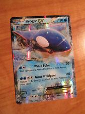 Pl Kyogre Ex Pokemon Card Promo Black Star Xy41 Set Legend of Hoenn Tin 180 Hp