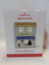 2015 Hallmark Keepsake Ornament Keepsake Korners Pet Shop NHS #32 B5