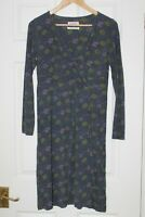 Seasalt Cornwall ~ Floral Viscose Blend Dress With Stretch~ Size 12