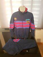 CHANDAL TRACKSUITE VINTAGE 90 S KAPPA FC BARCELONA TALLA L 1977efbb1a39f