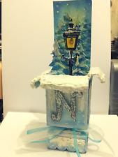 Handmade Luxury Pop-Up 3D Narnia Lampost Themed Card + Envelope